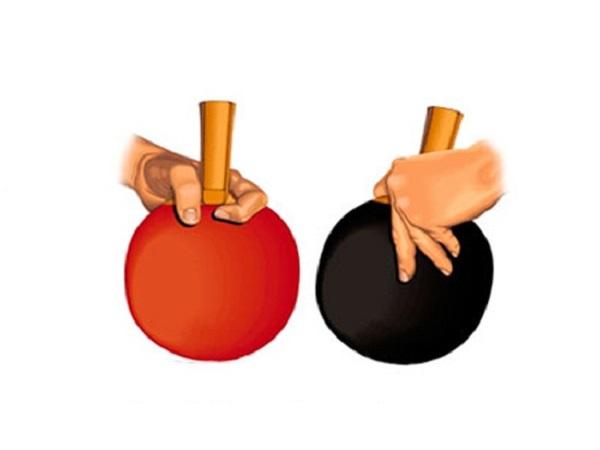Cách cầm vợt bóng bàn đúng kỹ thuật cho người mới
