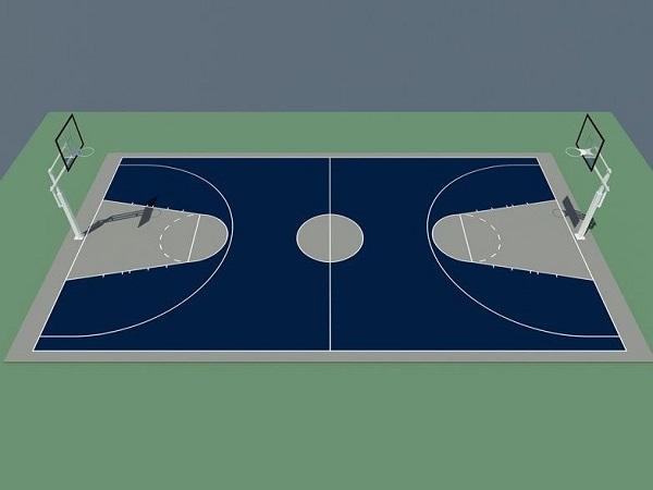 Kích thước sân bóng rổ theo tiêu chuẩn thi đấu