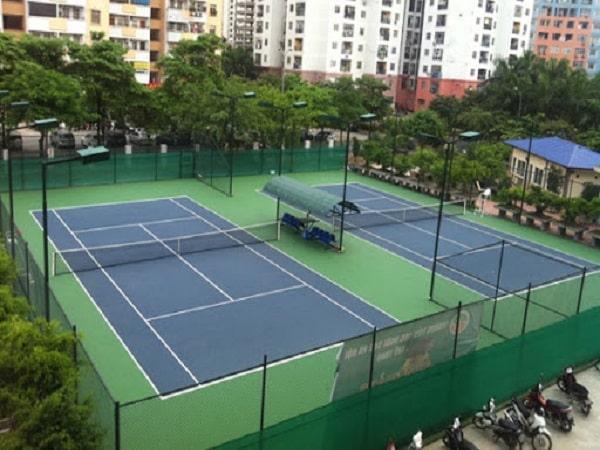 Kích thước sân tennis theo tiêu chuẩn thi đấu quốc tế