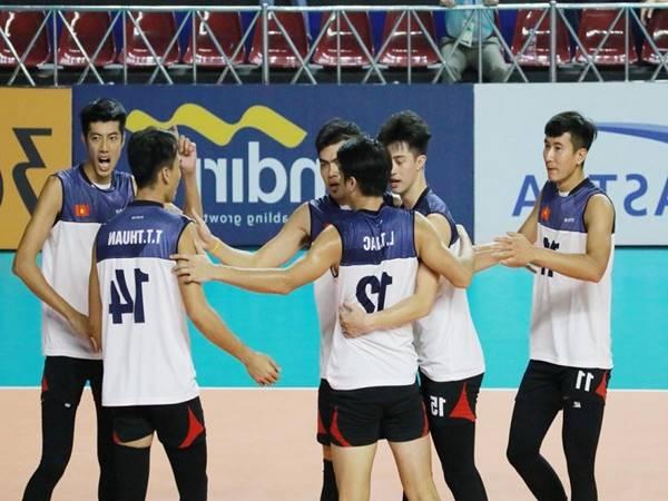 Chiều cao của đội tuyển bóng chuyền nam Việt Nam