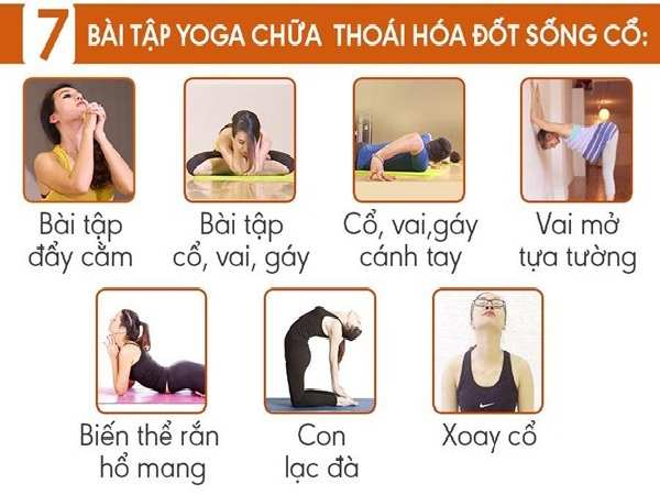 Bài tập yoga cho người thoái hóa đốt sống cổ