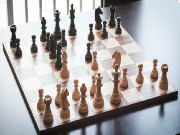 Thế cờ vua hay - ván cờ
