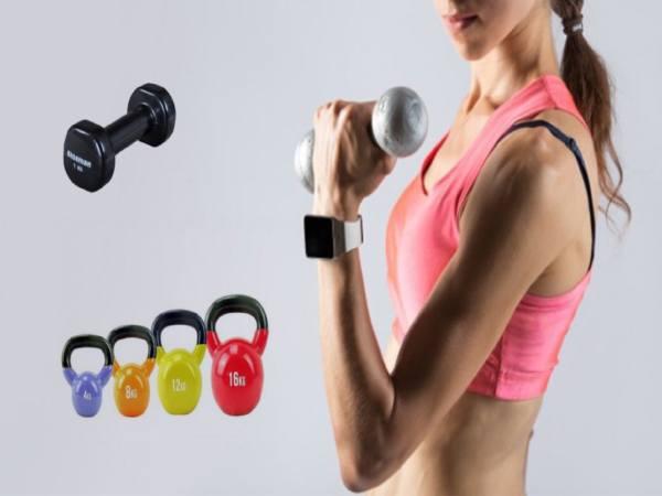 Dụng cụ tập thể dục tại nhà phù hợp cho cả nam và nữ